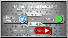 Spotify FATM Pocket Tube You watch it hear it Erlebe einzigartigen Content! Fotografen und Podcast?!